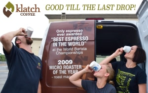 Shop for top-rated coffees at Klatch Coffee