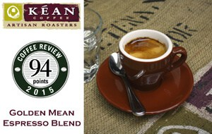 Shop for 94-Point Golden Mean Espresso at Kean Coffee