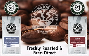 Shop for top-rated coffees at Barrington Coffee Roasters