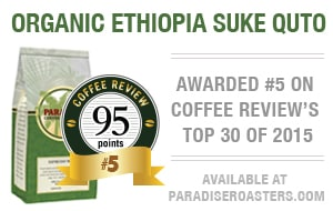 Shop for Top-Rated Coffees at Paradise Roasters