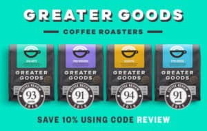 Shop for top-rated coffees at Greater Goods