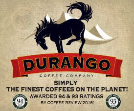 Shop for top-rated coffees at Durango Coffee Company