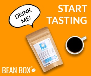Bean Box Talking Bag Banner